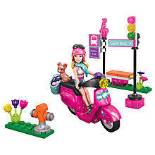 Buy Barbie Mega Bloks Build 'n' Play Scooter Online at johnlewis.com