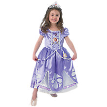 Buy Disney Princess Deluxe Sofia The First Dressing-Up Costume Online at johnlewis.com