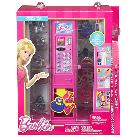 Buy Barbie Dream House Vending Machine Online at johnlewis.com