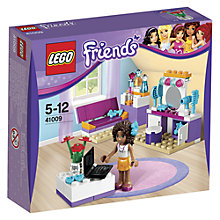 Buy LEGO Friends Andrea's Bedroom Set Online at johnlewis.com