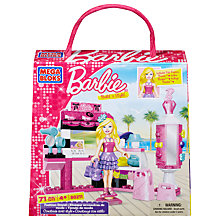Buy Barbie Mega Bloks Build 'n Style Fashion Stand Online at johnlewis.com