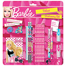 Buy Barbie Deluxe Stationery Set Online at johnlewis.com