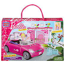 Buy Barbie Build 'n' Play Convertible Car Online at johnlewis.com