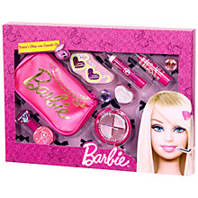 Buy Barbie Sleepover Cosmetic Set Online at johnlewis.com