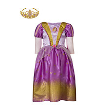 Buy Disney Princess Glitter Rapunzel Costume Online at johnlewis.com