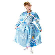 Buy Disney Princess Cinderella Winter Ball Gown Costume Online at johnlewis.com