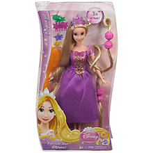 Buy Disney Princess Hair Down Rapunzel Doll Online at johnlewis.com