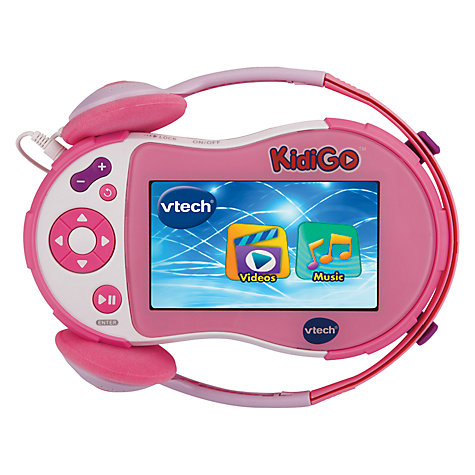 Buy VTech Pink KidiGo Media Player Online at johnlewis.com