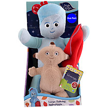 Buy In The Night Garden Large Talking Igglepiggle Soft Toy Online at johnlewis.com