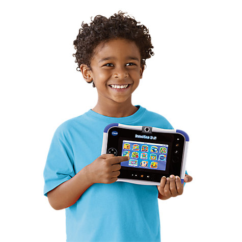 Buy VTech Innotab 3S With £10 App Card Included, Blue Online at johnlewis.com