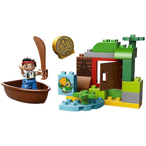 Buy LEGO DUPLO Jake's Treasure Hunt Online at johnlewis.com
