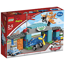 Buy LEGO DUPLO Planes Skipper Flight School Online at johnlewis.com