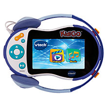Buy VTech KidiGo Blue Media Player Online at johnlewis.com