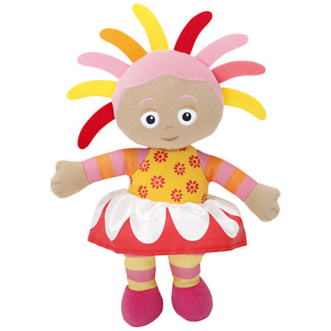 Buy In The Night Garden Large Talking Upsy Daisy Soft Toy Online at johnlewis.com