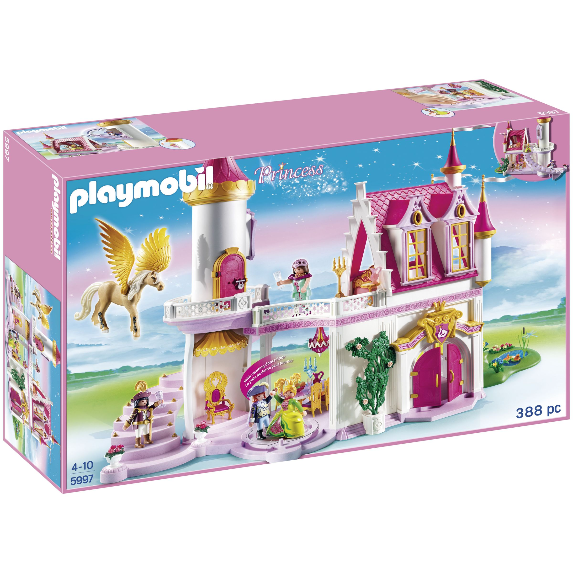 Click here for Playmobil Princess Fantasy Castle Mega Set