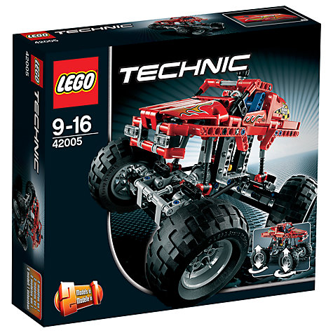 Buy LEGO Technic Monster Truck Online at johnlewis.com