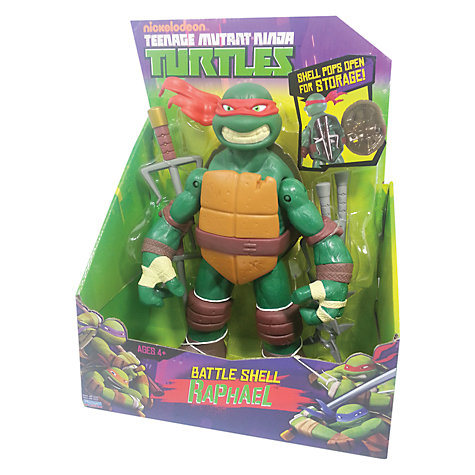 Buy Teenage Mutant Ninja Turtles Battle Shell Figure, Assorted Online at johnlewis.com