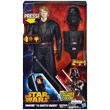 Buy Star Wars Anakin to Darth Vader Figure Online at johnlewis.com