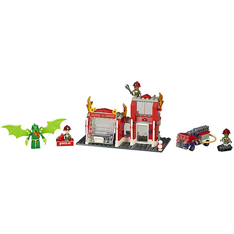 Buy KRE-O Fire Station Dragon Attack Playset Online at johnlewis.com
