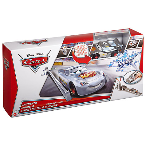 Buy Disney Cars Lightning McQueen Stunt Racer Launcher Online at johnlewis.com