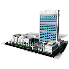 Buy LEGO United Nations Headquarters Online at johnlewis.com