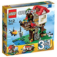 Buy LEGO Creator 3-in-1 Treehouse Online at johnlewis.com