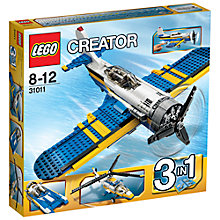 Buy LEGO Creator 3-in-1 Aviation Adventures Online at johnlewis.com