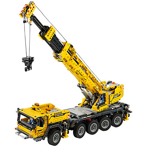 Buy LEGO Technic Mobile Crane Mk II Online at johnlewis.com