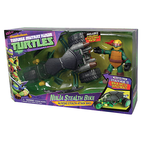 Buy Teenage Mutant Ninja Turtles Vehicle & Figure, Assorted Online at johnlewis.com