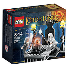 Buy LEGO Lord of the Rings The Wizard Battle Online at johnlewis.com