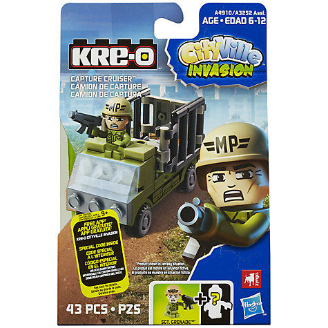 Buy KRE-O CityVille Invasion Vehicle, Assorted Online at johnlewis.com