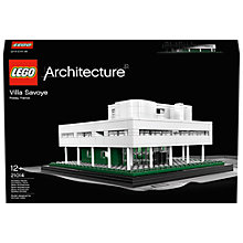 Buy LEGO Architecture Villa Savoye Online at johnlewis.com