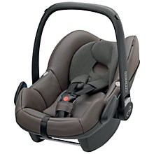 Buy Maxi-Cosi Pebble Infant Carrier, Brown Leather Online at johnlewis.com