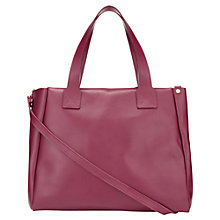 Buy Jigsaw Arbroath Tote, Red Online at johnlewis.com