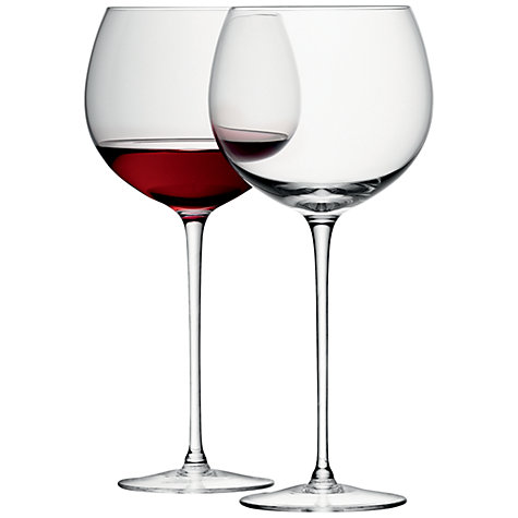 Buy LSA Bar Balloon Glass, Set of 4 Online at johnlewis.com