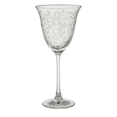 Buy John Lewis Maison Flora Wine Glass, 0.26L Online at johnlewis.com