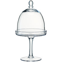 Buy LSA Serve Cakestand & Dome, Dia.15cm Online at johnlewis.com