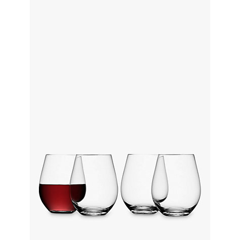 Buy LSA International Wine Collection Stemless Red Wine Glasses, Set of 4 Online at johnlewis.com