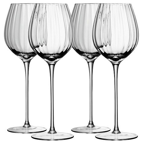 Buy LSA International Aurelia White Wine Glass, 0.43L, Set of 4 Online at johnlewis.com