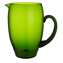 Buy John Lewis Al Fresco Jug, Green Online at johnlewis.com