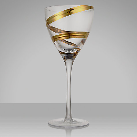Buy LSA Malika White Wine Glass, Set of 2 Online at johnlewis.com
