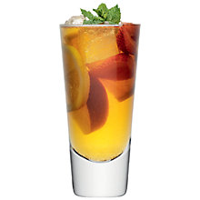 Buy LSA Bar Long Mixer Glass, Set of 4 Online at johnlewis.com