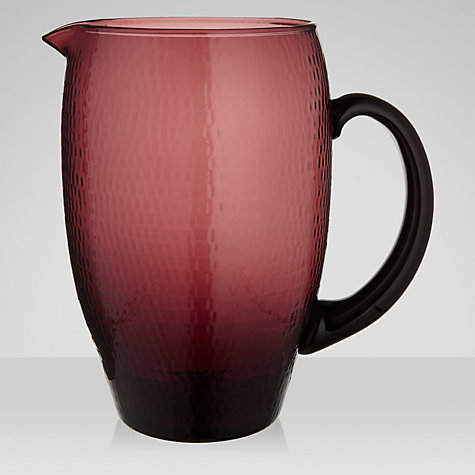 Buy John Lewis Al Fresco Jug, Purple Online at johnlewis.com