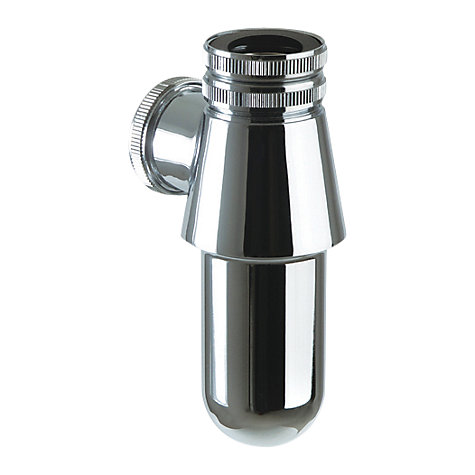 Buy John Lewis Chrome 32mm Sink Bottle Trap Online at johnlewis.com