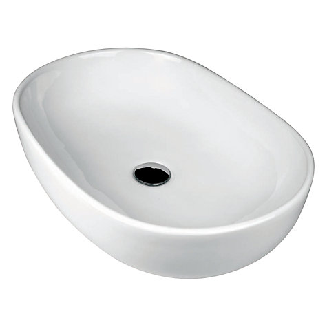 Buy John Lewis Pisa Oval Countertop Bathroom Sink Basin Online at johnlewis.com