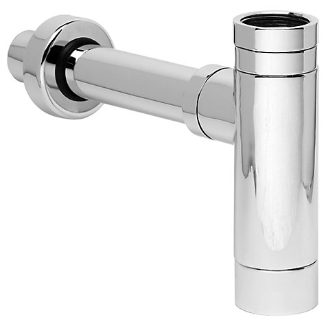 Buy John Lewis Chrome Modern Sink Bottle Trap Online at johnlewis.com