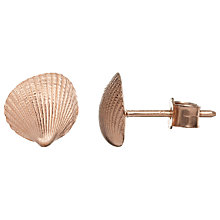Buy Alexis Dove Clamshell Stud Earrings Online at johnlewis.com