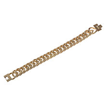 Buy Adele Marie Chunky Chain Bracelet, Gold Online at johnlewis.com