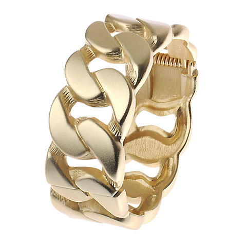 Buy Adele Marie Chain Hinged Cuff, Gold Online at johnlewis.com