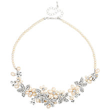 Buy Alan Hannah Pearl Spray Cluster Necklace, White Online at johnlewis.com